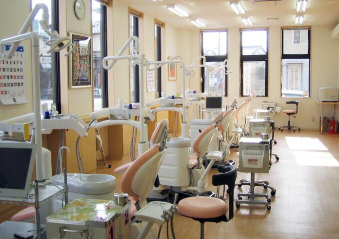 ビタミン歯科 富士厚原診療所院内